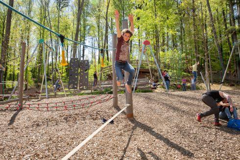 Essbarer Tiergarten Action Spielplatz